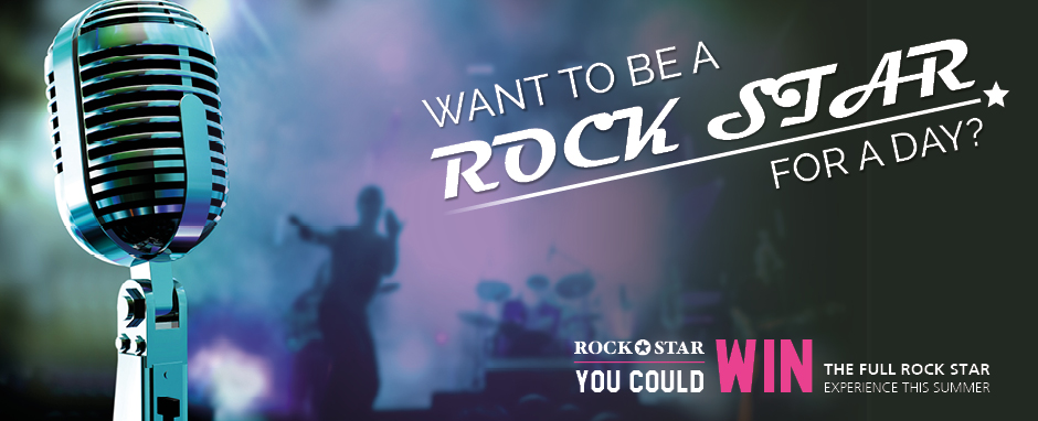 Win with Rock Star this Summer Holiday